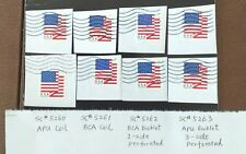 2 Full Sets of 8 U.S. Flag 2018. SC#5260-5263 (APU & BCA Coil + BCA & APU BKlet)