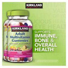 2 Bottles Kirkland Signature Adult Multivitamin,320 Gummies | NO SALES TAX