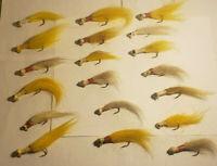 Vintage fishing bucktail Jigs Lot of 19