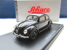 + VOLKSWAGEN VW Brezel Käfer 38 schwarz von Schuco 1:43 NEU 1200 1300 1302 1303