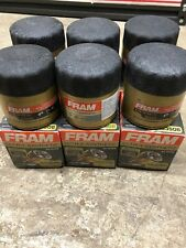 (6) DENT FRAM XG3506 ULTRA SYNTHETIC OIL FILTER W/ SURE GRIP UP TO 15,000 MILES