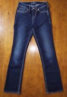Silver Jeans Suki High Slim Boot Womens Denim bootcut pants W26 L33