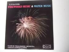 LP-Handel Fireworks music & water music vinyl Lp