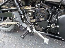 LSL Triumph Billet Front Front Sprocket Cover Black Bonneville T100 SE Thruxton