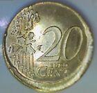 FAUTEE:20 EURO CENTS RFA 2002 F - TER - CASQUETTE- HORS VIROLE