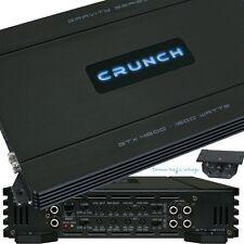Crunch GTX-4800 4-Kanal 1600 WATT Car-Hifi KFZ Verstärker Endstufe brückbar