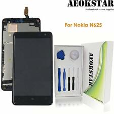 Touch Panel with Frame for Nokia Lumia 625 NA Replacement LCD Display Black Touch Screen for Nokia LCD Display