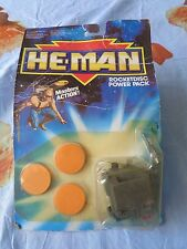 HE-MAN MASTERS ACTION MATTEL 1989 ROCKETDISC POWER PACK NUOVO SIGILLATO VINTAGE
