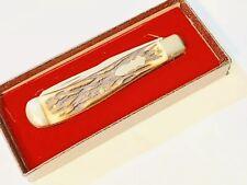 VINTAGE 1960's UNCLE HENRY SCHRADE WALDEN NY USA HUNTER BOWIE KNIFE 285UH