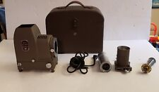 Vintage Bell & Howell Filmo Duo-Master Slide Projector w/ Hard Case Untested
