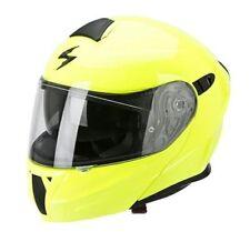 Casques jaunes Scorpion moto pour véhicule