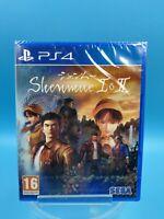 neuf jeu video PS4 playstation 4 sony shenmue 1 & 2 I & II