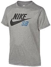 Abbigliamento grigio Nike in poliestere per bambini dai 2 ai 16 anni