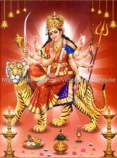 bathroom wall decor hindu goddess durga paper poster