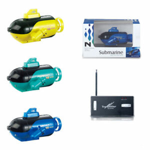 Mini Remote Control Submarine Boat 4ch Electronic Ship Subs Diving Toys