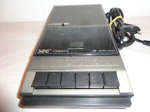 SEG CR6900 - Kassettenrekorder Cassettenrecorder - mit Netzteil