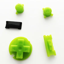 Nuevo reemplazo de los botones de color verde (kiwi) Nintendo Game Boy Color Gbc Mod