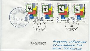 GOTEBORG PAQUEBOT COVER - FROM A CHINESE SHIP