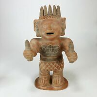 Antiqur Pre-Columbian Mexican Folk Art Statue