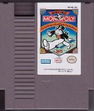 MONOPOLY CLASSIC NINTENDO GAME ORIGINAL SYSTEM NES HQ