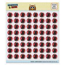 Black Ragdoll Tiffany Cat Hearts Love Puffy Bubble Scrapbooking Sticker Set