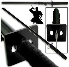 """Ninja Stealth Black 39"""" Sword Set with Square Guard and Scabbard Collectible"""