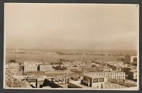 Postcard Ancona Italy ships HMS Cyclops and Subs in harbour 1928 Naval RP