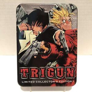 Trigun Limited Collector's Edition 1 DVD Anime Set Tin Case