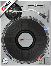 TECHNICS 1200 MK2 SKIN - BRUSHED SILVER (PAIR)