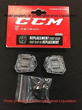 CCM Fast Clip Revision Visor Attachment Hardware Kit! Shield Hockey Helmet
