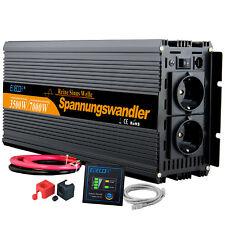 3500 7000 watt Reiner Sinus Spannungswandler DC 24V 230V Wechselrichter Inverter