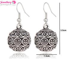 Silver Celtic Ball Dangle Drop Earrings Jewellery Womens Ladies Gifts