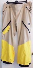 ADIDAS Snowboarding Pants Stretchin It Major Beige Hemp $225 Retail - 2XL (XXL)