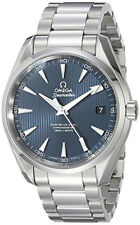 231.10.42.21.03.003 | BRAND NEW OMEGA SEAMASTER AQUA TERRA BLUE DIAL MEN'S WATCH