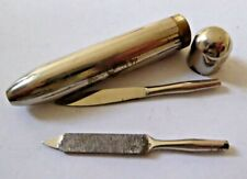 Vintage Bullet Shaped Travel Tool Kit