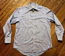 Charles Tyrwhitt Mens Long Sleeve Button Front Dress Shirt Size 16.5 36