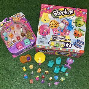 Shopkins Lot Of Toys Season 5 - Supermarket Scramble + Loose Shopkins Exclusive