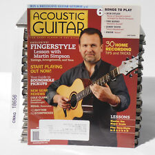 Martin Simpson ACOUSTIC GUITAR MAGAZINE May 2009 Soundhole Pickups Cole Clark