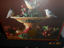 lenox Winter Greetings Electric  Bird Bath New Box