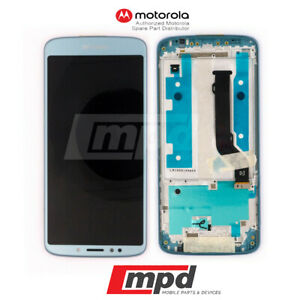 Motorola Moto E5 Plus XT1924 LCD & Digitizer Touch Panel Frame Assembly – Gray