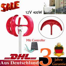 400W 12V Garten Wind Turbine Windkraftanlagen Windgenerator Vertikale Generators