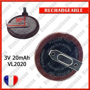 ACCU BATTERIE PILE VL2020 RECHRGEABLE PANASONIC POUR CLES X5 X6 3 5 E38 E39 E46