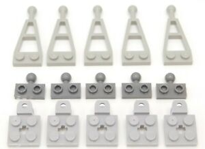 15 pieces Lego Tow balls trailer hitch plate modified