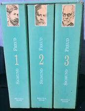Sigmund Freud Obras Completas (Complete Works) 3 Tomos Spanish