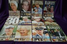 Majesty Magazine Volume 31, All original issues from 2010, British Royal Family