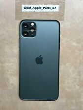 OEM iPhone 11 Pro Max Back Housing Midnight GREEN Good Condition