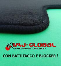 Tappetini Tappeti in Moquette Velluto per Renault Megane II CC con battitacco