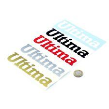 Ultima Stickers Decal Vinyl 150mm x2 GTR Evo Can-Am Kit Kar Decals