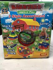 Barnyard Learn n' Play 3 Style Assortment
