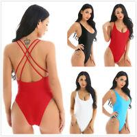 Women Girls One-Piece Swimsuit Beachwear Swimwear Monokini bikini Bathing suits